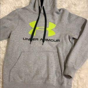 Under Armor hoodie!